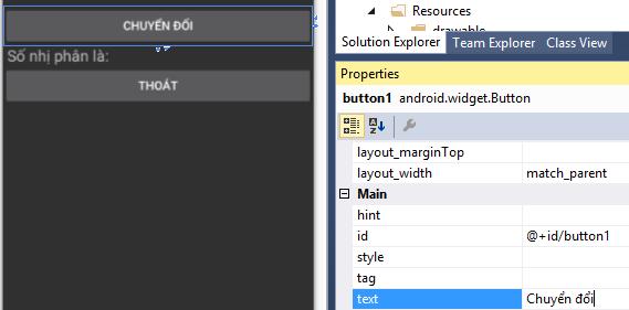 Xử lý sự kiện trong Android với Xamarin
